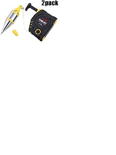 Tajima Pzb-400Gp 2 Pk 14Oz Quick Stabilizing Plumb Bob ()