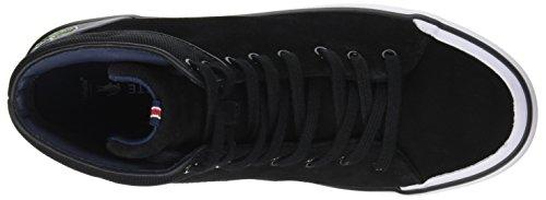 Lacoste Lancelle Hi Top, Sneaker Donna Nero (Blk)