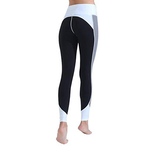 Fashion Vita Workout Casual Alta Da Collant Capris Sportivi Leggings Yoga Pantaloni Allenamento Stretch Fitness Giovane Saoye Grau Donna dgUa7fdq