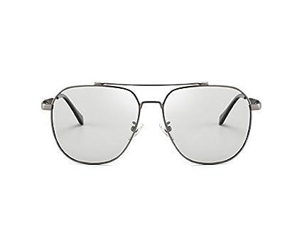 Yuying Gafas de Sol polarizadas HD Camaleón Inteligente Sunglasse para Hombres Mujeres Anti-UVA Anti