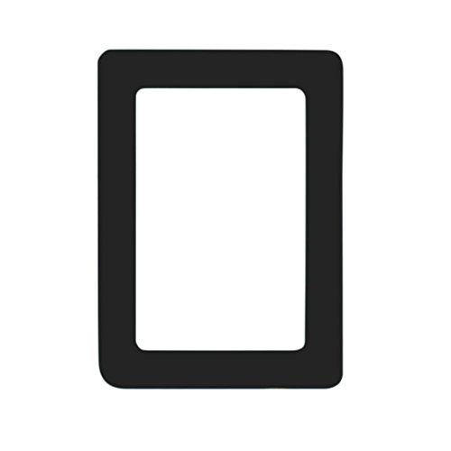 oldeagle Colorful Magnetic Picture Frames Photo Magnets Photoframe For Refrigerator 11.8x16cm (Black)