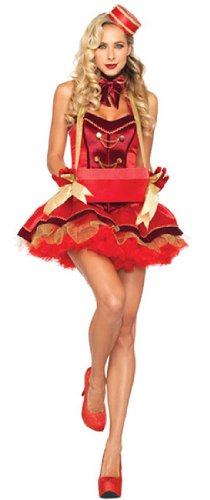 [Sexy Vintage Cigarette Girl Adult Halloween Costume] (Pin Up Girl Costume Halloween)