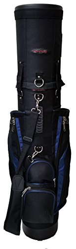 CaddyDaddy Golf Co-Pilot Pro 2 Hybrid Travel Case (Black/Blue)