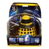 Doctor Who Dalek Paradigm Figures - Yellow Eternal Dalek (Dalek Action Figure)