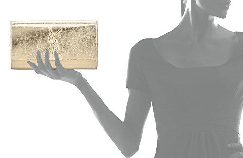 yves st laurent canada - Yves Saint Laurent YSL Sac Belle du Jour Gold Metallic Leather ...