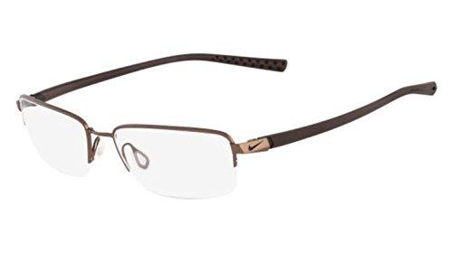 Nike Eyeglasses 4214 242 Wal/Drk Brwn Demo 53 - Nike Men Eyeglass Frames For