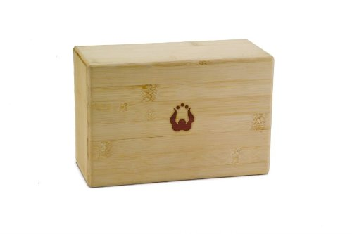 "Natural Fitness Bamboo Yoga Block (3"" x 6"" x 9"")"