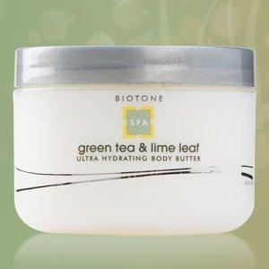 Biotone Ultra Hydratant Beurre corporel, thé vert et Lime Leaf, 8,5 Fluid Ounce