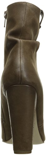 Steve Madden Womens ruling Boot Taupe Nubuck
