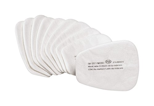 3Maa7 #3M 5P71PB1-B Particulate Prefilters, 10/ Pack, 5 Packper Case, by 3M Safety (Image #1)