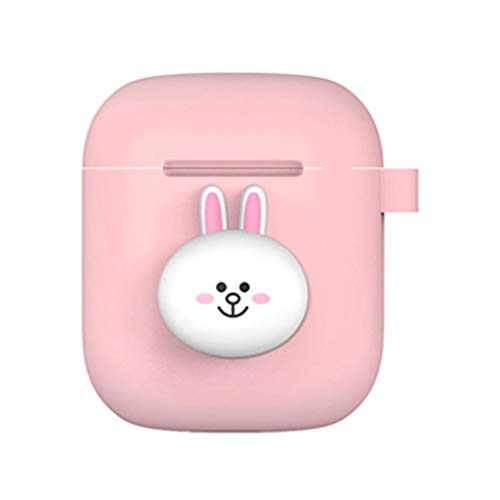 LINE FRIENDS New Official Merchandise - Airpods Silicone Case - Ring Type (CONY)