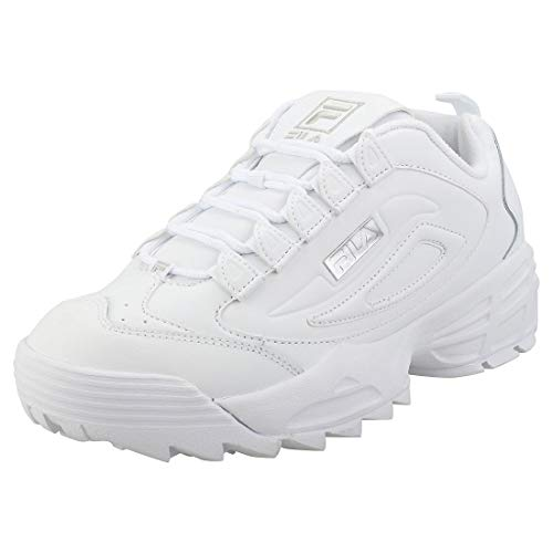 Fila Unisex Disruptor 3 Leather Synthetic Trainers