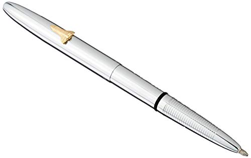 Fisher Space Pen, Bullet Space Pen with Shuttle Emblem, Chrome (600SH)