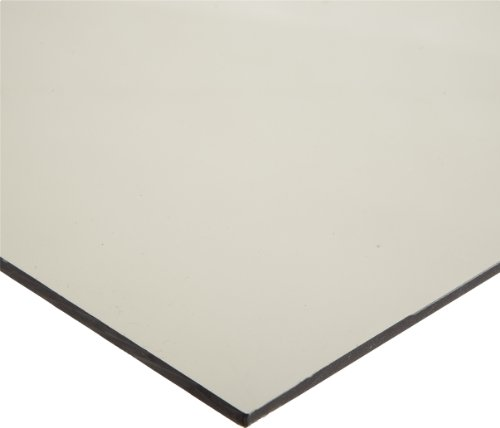 Polycarbonate (PC) Sheet, Impact Resistant, Opaque Gray, Standard Tolerance, ASTM D3935, 3/4