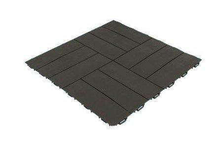 Pavimentazione Da Giardino In Plastica : Piastrella quadrata in resina marrone pavimentazione esterna