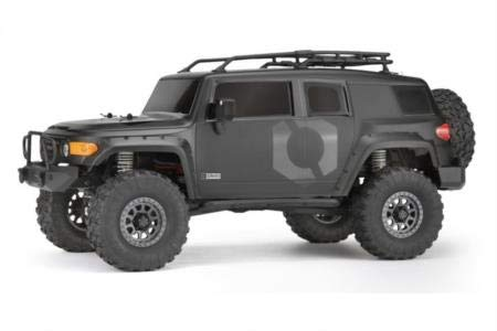 HPI Racing - Venture Toyota FJ Cruiser RTR, 1/10 Scale, 4WD, Brushed, Matte Black w/ 2.4GHz Radio System from HPI Racing