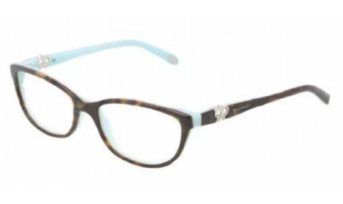 Eyeglasses Tiffany TF2051B 8134 TOP HAVANA/BLUE DEMO LENS - Frames Tiffany Glass