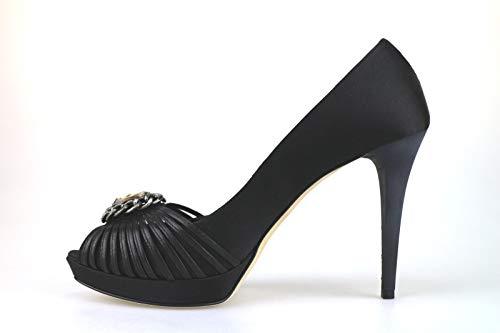 Satin Pumps Paoli Women's Black Giancarlo zv4Fw