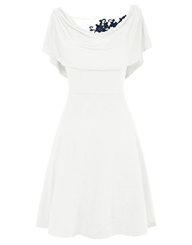 ligne de de robe mre marie Ivoire Dresstells courte A FZxvqwnnB1