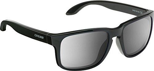 100 Cristales Sol de Gafas UV Negro Deportivas para Reflejado Polarizados Anti Cressi Gris Adulto x8wgRq6CnC