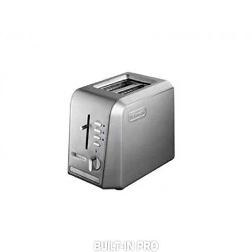DELONGHI CTH2023 2 SLICE TOASTER ONLY FOR 220 240 Volts ( WILL NOT WORK IN USA OR CANADA)