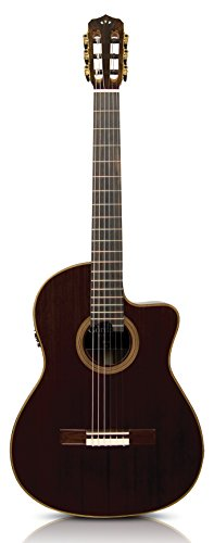 Cordoba Fusion 12 Rose Acoustic Electric Nylon String Classical Guitar