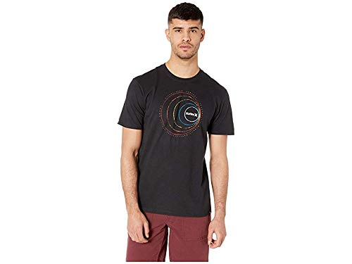 Hurley Men's Premium Round About Tee Black Large