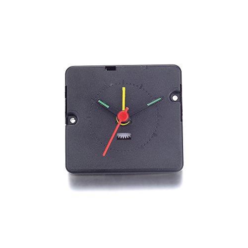 Atoplee Clock Spindle Movement Mechanism Repair Part Kit Black Diy Tool Hand Work,3 Style,3pcs (Electronic Alarm - Clock Alarm Movement