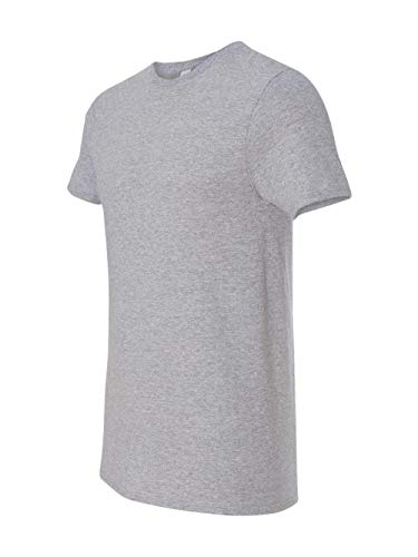 Fruit of the Loom Mens 4.7 oz. 100% Sofspun Cotton Jersey Crew T-Shirt(SF45R)-Athletic Heather-L ()
