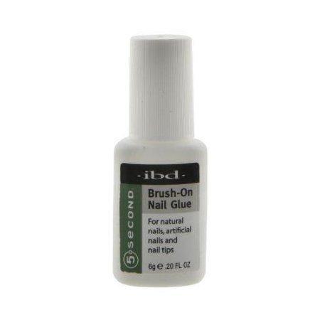 IBD 5 Second Brush-On Nail Glue 6 g 12 pc Dsply