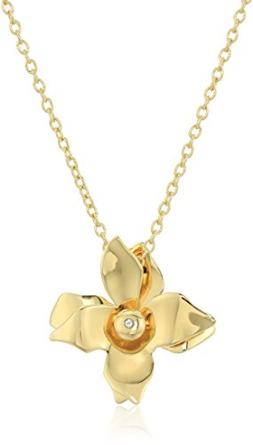 James Gold Necklace (Elizabeth And James Isabelle Pendant Necklace, Gold)