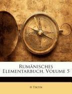 Download Rumänisches Elementarbuch, Volume 5 (German Edition) pdf