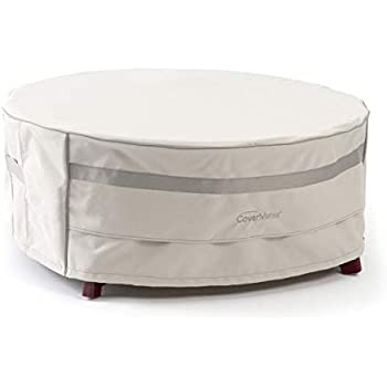 Amazon Com Covermates Round Accent Table Cover