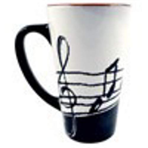 Aim Music Latte Mug Music Notes ()