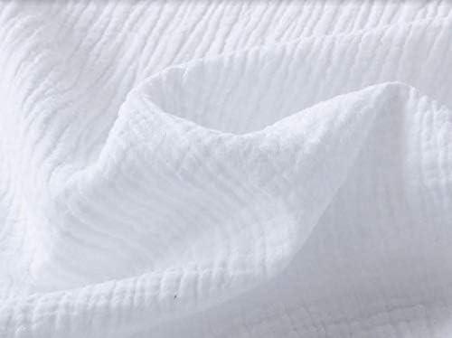 Cotton Gauze Fabric Single layer Muslin Baby by the Yard Korean gauze fabrics wide 54 /_Dovey 5 colors