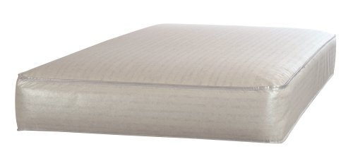 "Sealy Baby Firm Rest Infant/Toddler Crib Mattress-Luxury Design Pattern May Vary - 204 Premium Coils, Anti-Sag System, Waterproof Cover, Hypoallergenic Cushioning, High Coil Firmness, 51.7""x 27.3 by Sealy (Image #4)"