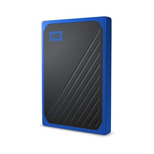 chollos oferta descuentos barato WD My Passport Go 2 TB Disco duro sólido externo acabado Cobalto
