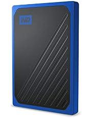 WD 2TB My Passport Go SSD Cobalt Portable External Storage, USB 3.0 - WDBMCG0020BBT-WESN