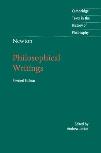 newton-philosophical-writings-cambridge-texts-in-the-history-of-philosophy