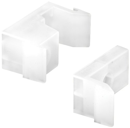 Prime-Line Products M 6218 Tub Enclosure Guides and Bumpers, White,(Pack of 2)