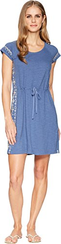 (Woolrich Women's Bell Canyon Eco Rich Ii Dress, Bijou Blue, Small )