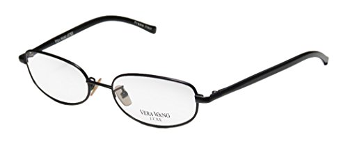 Vera Wang Wafer Womens/Ladies Designer Full-rim Eyeglasses/Eyewear (50-16-133, - Wafer Glasses