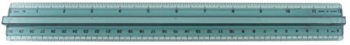 Westcott Transparent Pick-Up Ruler, 12