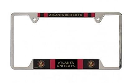 SOCCER Atlanta FC Metal License Plate Frame