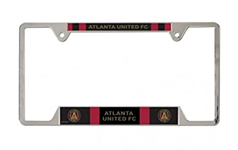 Amazon.com: WinCraft Soccer Atlanta FC Metal License Plate Frame ...