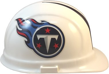 Texas American Safety Company Tennessee Titans Hard Hats, ERB Style with Standard Suspension 2