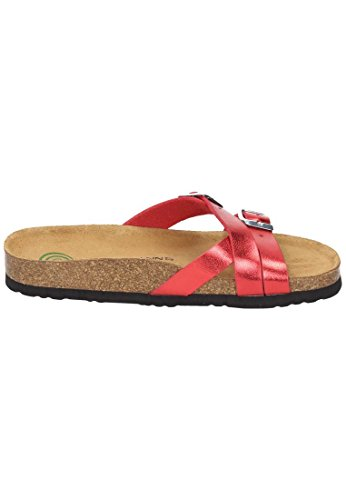 Dr.Brinkmann 701184 Mujer Clogs & Mules Rot