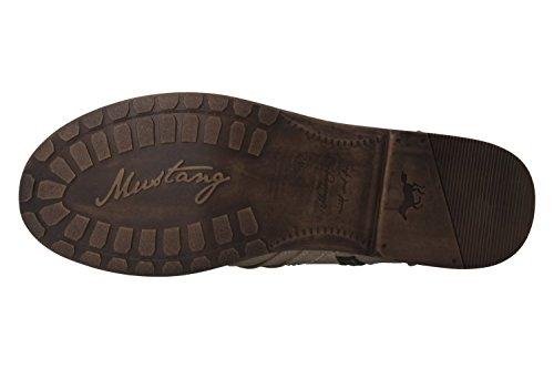 Mustang1134-602 - botas de caño bajo Mujer, color, talla 45