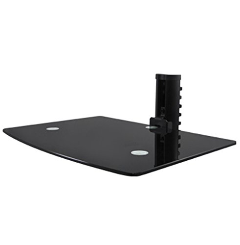 Xtreme 17910 Universal Glass Shelf Wall Mount 14 x 9.8 Inches by Xtreme Cables