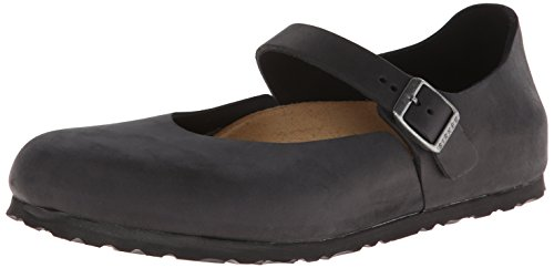 Birkenstock Women's Mantova Oxford,Black Oiled Leather,42 EU/11 N US